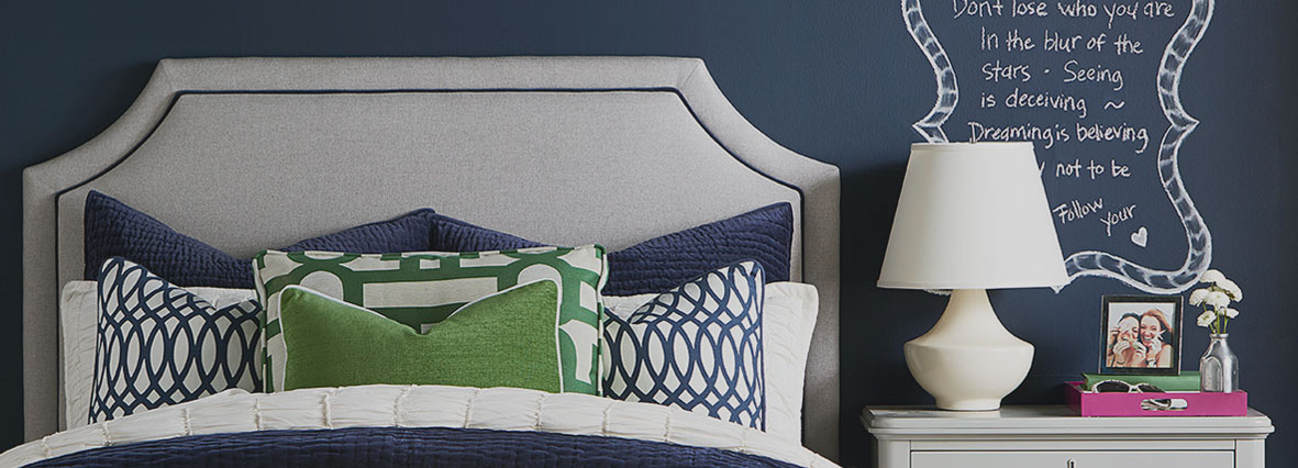 HGTV Design Studio by Bassett Custom Upholstered Beds