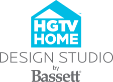 HGTV Design Studio by Bassett Logo
