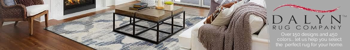 Dalyn Rugs... over 150 designs and 450 colors... let us help you select the perfect rug for your home.