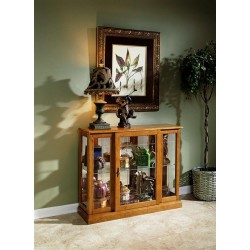 Golden Oak II Display Cabinet