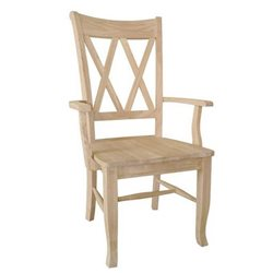 John Thomas Select Double X-Back Arm Chair