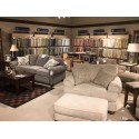 Patterson Fabric Chair & Ottoman