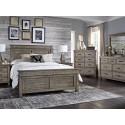 Glacier Point Bedroom Collection w/ Storage Bed