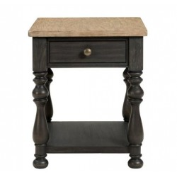 Barrington Two Tone End Table