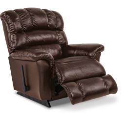 Randell Leather Rocking Recliner