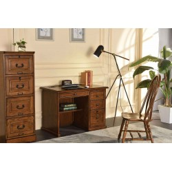"Oak 42"" Flat Top Desk"