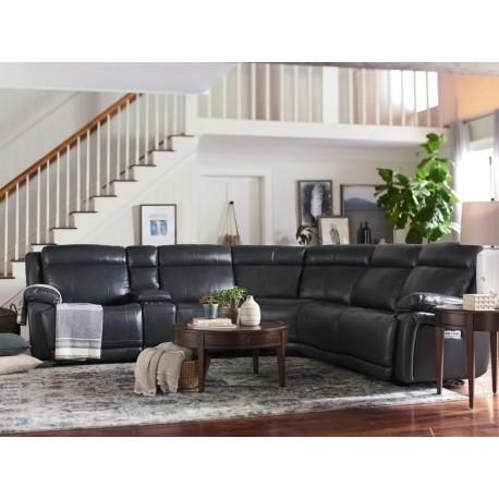 Evo Power Reclining Sectional, Cedar Hill Furniture