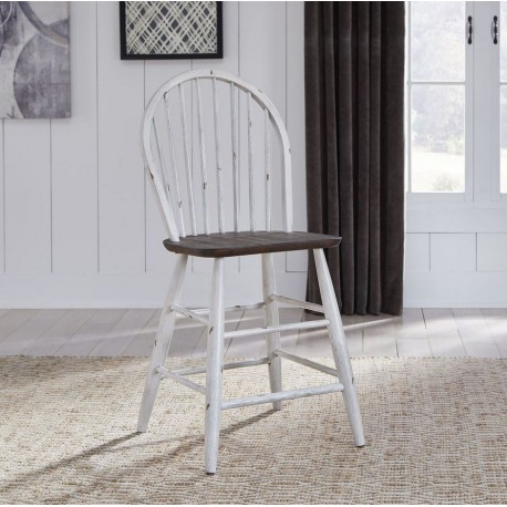 Farmhouse Windsor Back Counter Chair