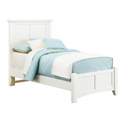 Bonanza Twin Mansion Bed in White