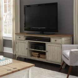 Farmhouse Reimagined Entertainment TV Stand