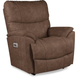 Trouper Power Rocking Recliner with Headrest and Lumbar