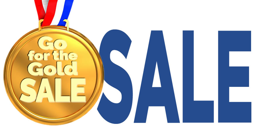 Go for the Gold Sale