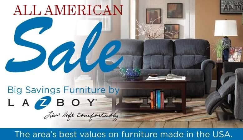 All American La-Z-Boy Sale