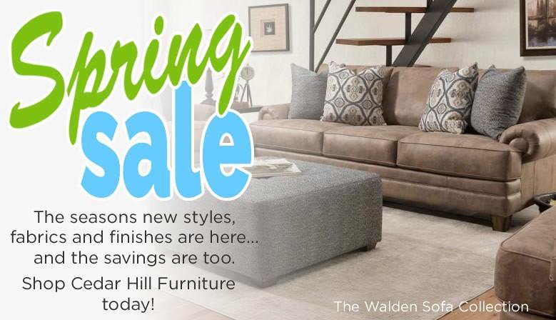 Cedar Hill Furniture Spring Sofa Sale