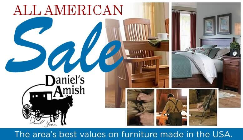 All American Furnture Sale - Amish Furniture