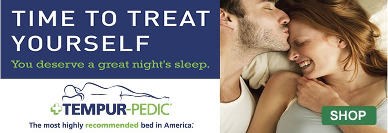 Time to treat yourself to a TempurPedic Mattress